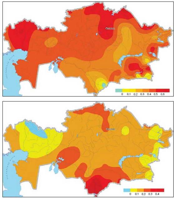 Влияние изменения климата на водные ресурсы в Центральной Азии