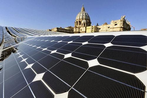 Vaticanul a trecut aproape complet la energia solară