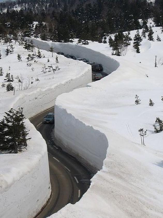 Японские снега