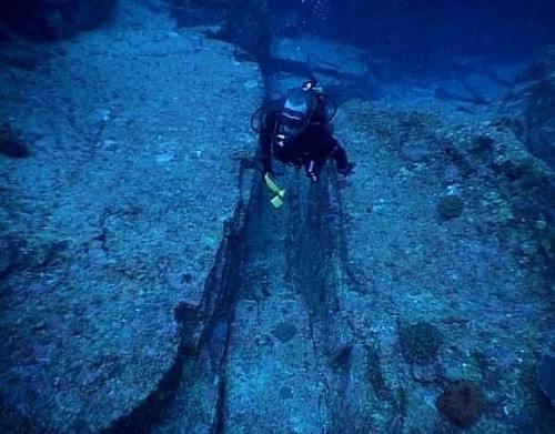 На дне океана найден гигантский японский подводный город
