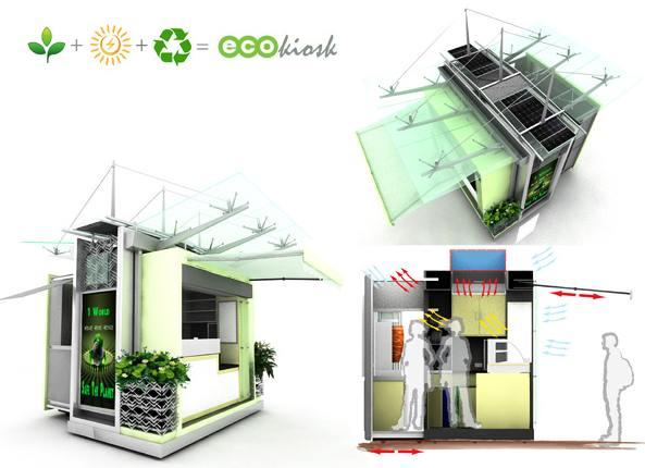 Ecokiosk: Comerţul verde în stradă