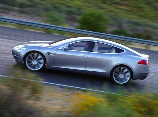 Tesla Motors планирует выпустить электро джип Model X уже в 2013 году