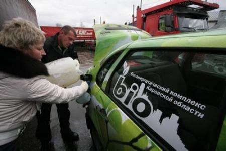Лада Калина на биотопливе – это звучит гордо