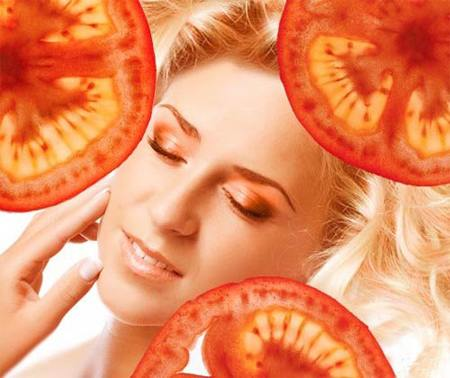 Secretele frumuseţei de la tomate