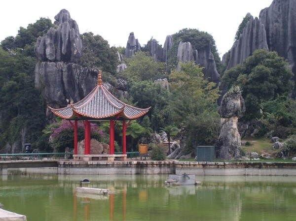 Pădure din piatră în Shilin-Lunane