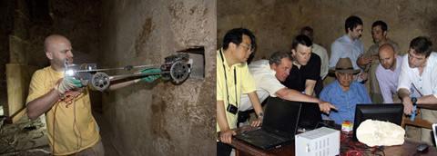 Робот заглянул в секретную камеру пирамиды Хеопса