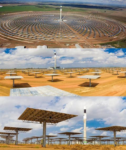 Открыта первая ночная солнечная электростанция