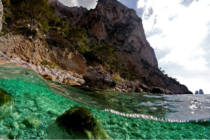 Взгляд из-под моря Alessandro Catuogno