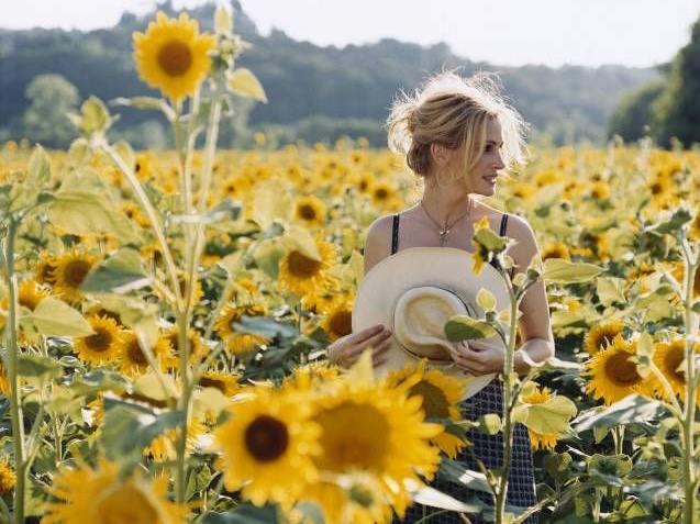 Julia Roberts printre cei verzi