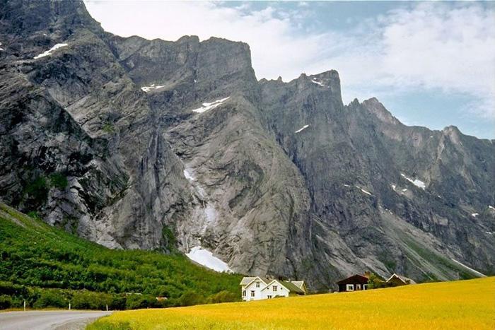 Экстремальные пейзажи Норвегии