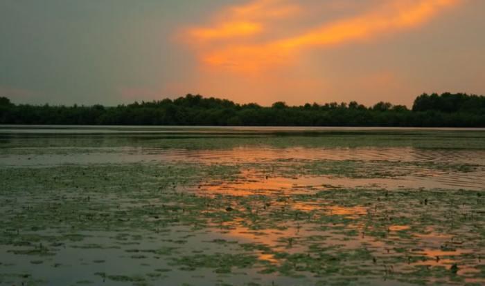 Озеро Белеу - потрясающая красота