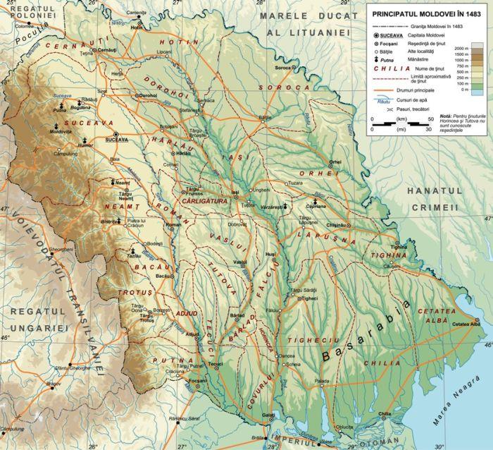 Молдова от гор и до моря