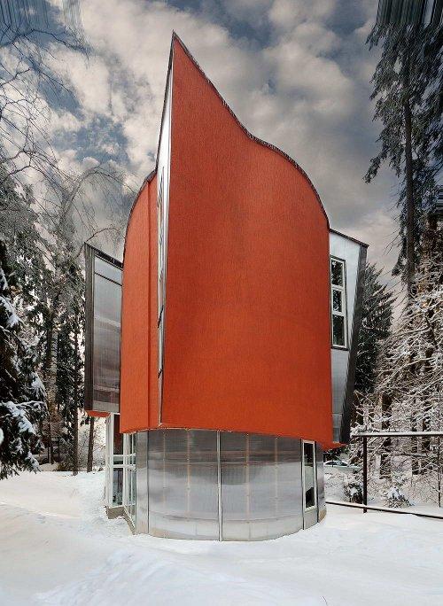Зеленый дом в Подмосковье