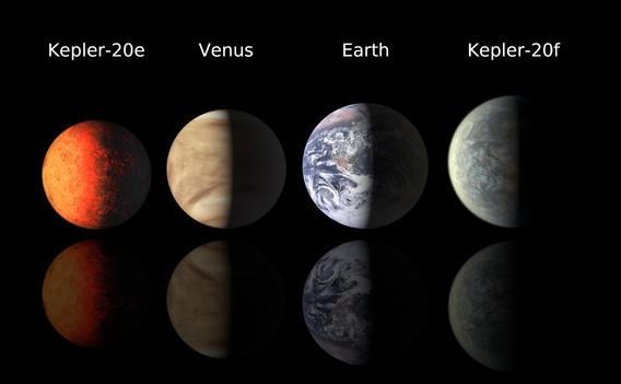 Au fost descoperite primele planete de mărimea Pămîntului (+Video)