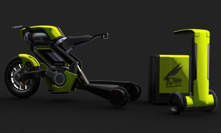 Transport Hornet – eco-motocicleta pneumatică
