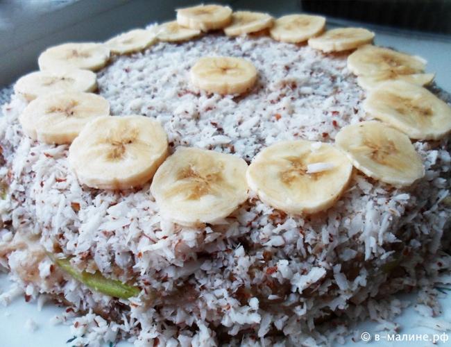 Сыроедческие рецепты: кокосовый торт