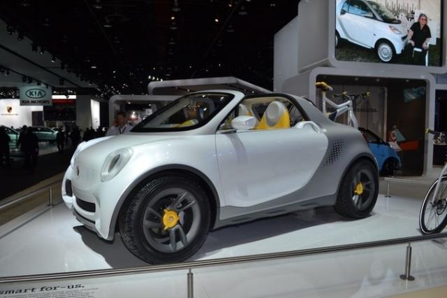 Detroit Auto Show 2012 (NAIAS): noi concepte de maşini