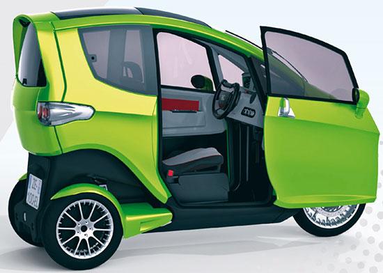 Tilter: maşina electrică, urbană compactă