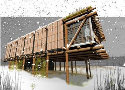 Aaron Beyers a creat o casă pasivă cu sisteme de energie solară