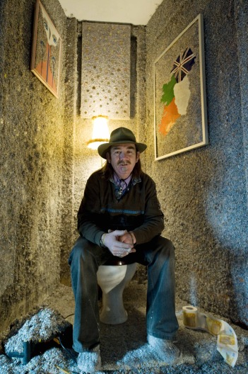 Ирландский художник Фрэнк Бакли построил дом из 1 миллиарда евро (+Фото)