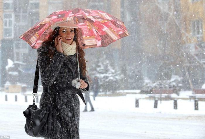 Зима в Европе (Фото)
