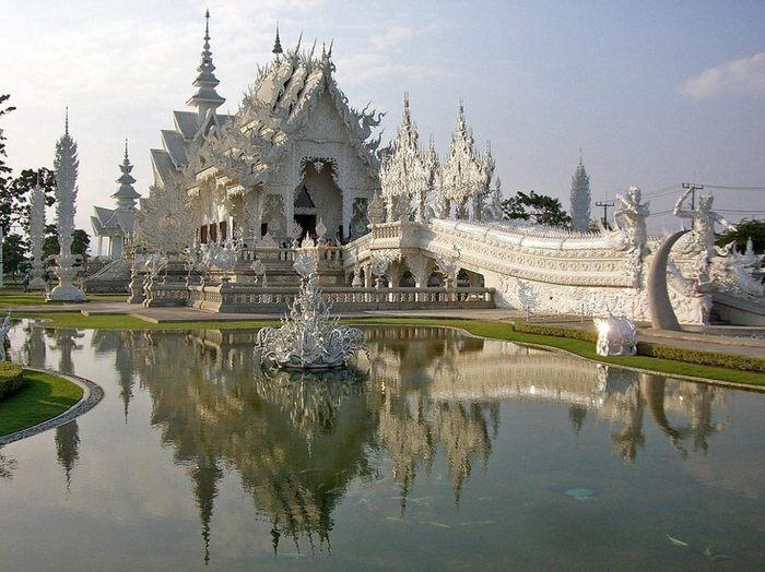 Белый храм Тайского Будизма (+Фото)