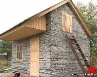 O casă de sticlă construită pe terenul vilei din Novoşahtinsk