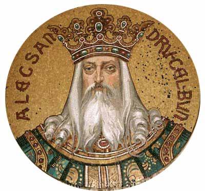 Proclamarea lui Alexandru cel Bun domn al Moldovei