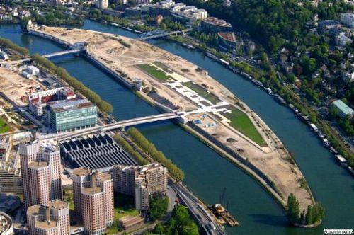 В Париже появится эко-остров