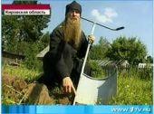 Священник из Кировской области изобрёл чудо-лопату (Видео)