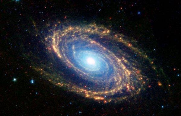 Земля находится внутри черной дыры из другой Вселенной?