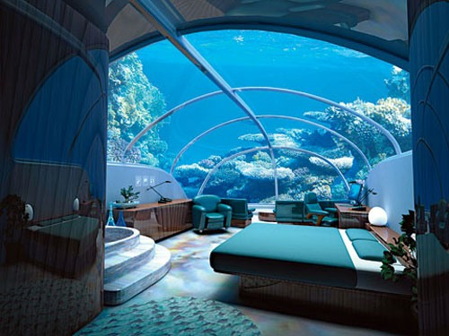 ОАЭ: в дубайском отеле можно переночевать с рыбами на 10-метровой глубине