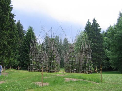 Catedrala italiană din arbori vii