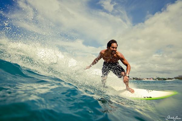 Фотографий серфингистов от фотографа Сары Ли