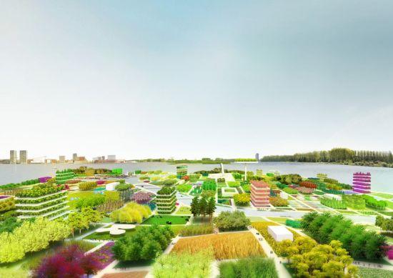 Нидерланды построят город-сад через 10 лет