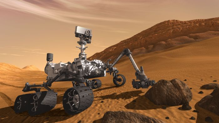 Curiosity a aterizat pe Marte (+Video)