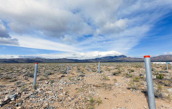 Солнечная башня в пустыне Калифорнии от RAFAA