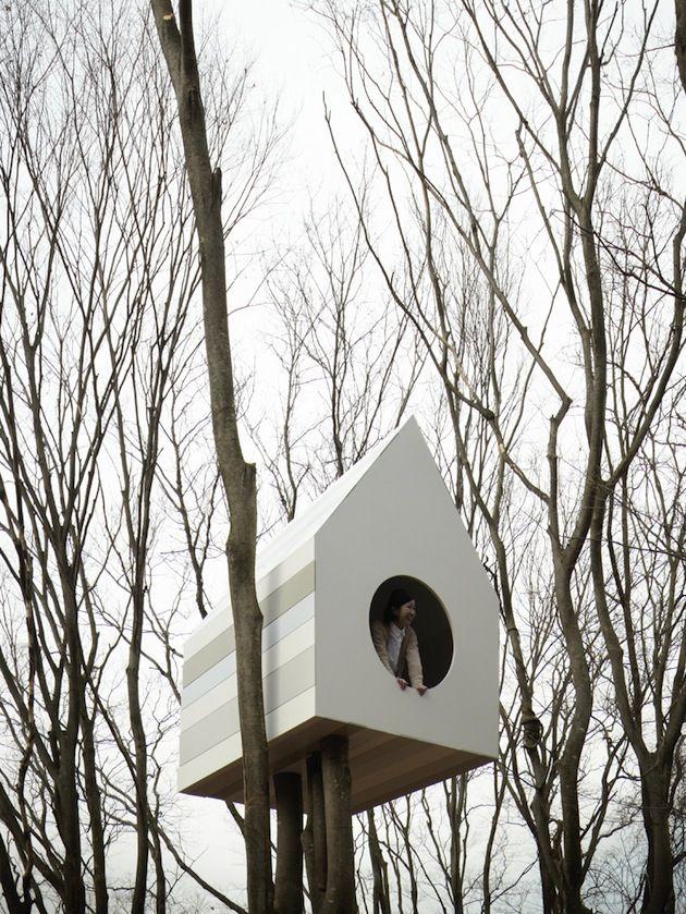 Отель для птиц от Нендо