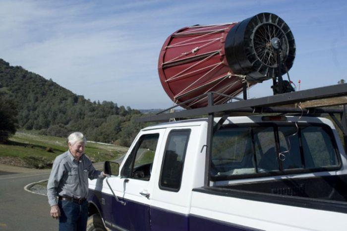Ветровая турбина от Реймонда Грина (Raymond Green). США