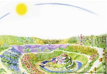 Экологические родовые поместья, основанные на кратерных садах — будущее сельского хозяйства