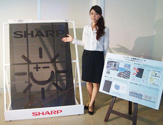 Прозрачные солнечные панели как строительный материал