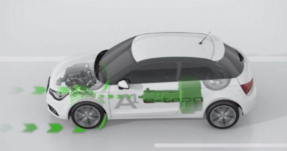 Hibrid universal Audi A1 e-tron (+Video)