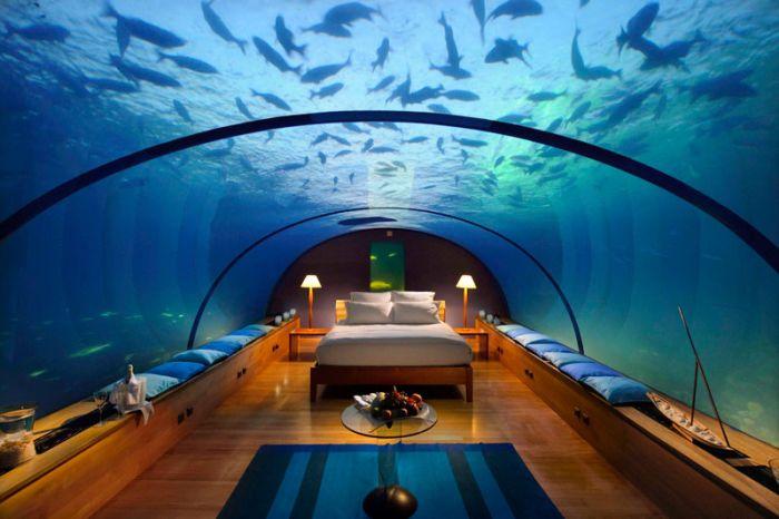 Подводный ресторан на Мальдивах - Итха