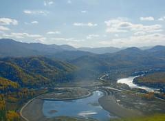 Самое большое рукотворное озеро Сибири начали наполнять водой