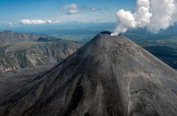 Красивые фотографии камчатских вулканов (Фото)