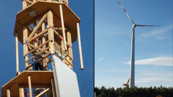 TimberTower — первая в мире деревянная ветряная турбина