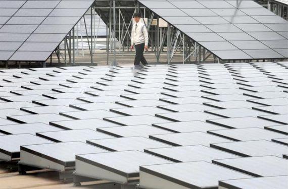 Солнечная электростанция вместо аэропорта