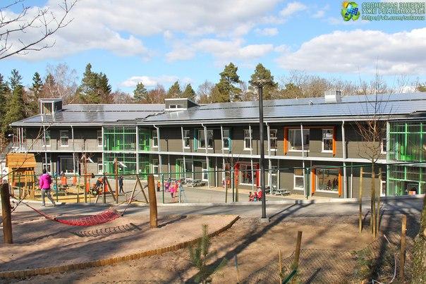 Școala cu consumul zero de energie s-a deschis în comuna Allingsos din sud-vestul Suediei