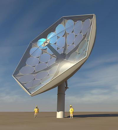 Недорогая установка сможет преобразовывать 80% солнечной энергии
