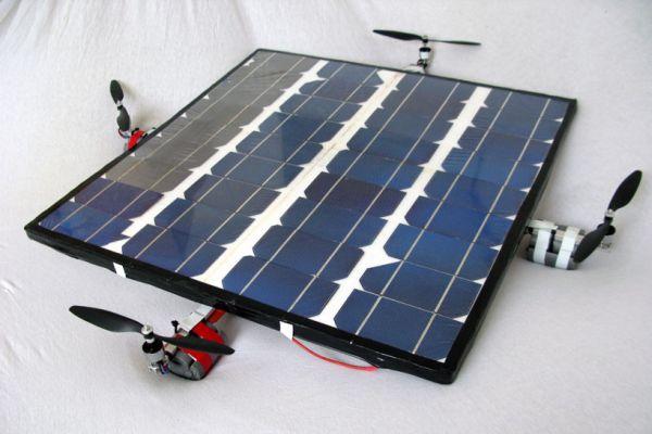 Солнечный вертолет Solarcopter или летающая солнечная панель?